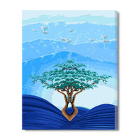 The Tree Of The Deep-40*50cm DIY Paint by Numbers Kits with Frame for Wall Decoration - idiypaint