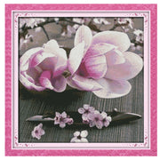 Magnolia -  DIY Cross Stitch Kits - idiypaint