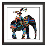 Elephant-  DIY Cross Stitch Kits - idiypaint