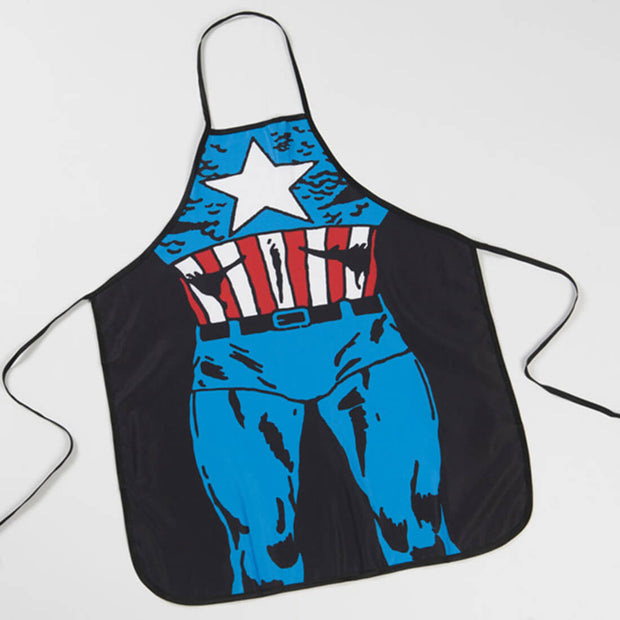 Creative Cartoon Pattern Waterproof Kitchen Painting Apron - idiypaint