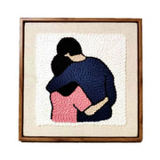 DIY Rug Hooking Punch Needle Handcraft- Couples - idiypaint