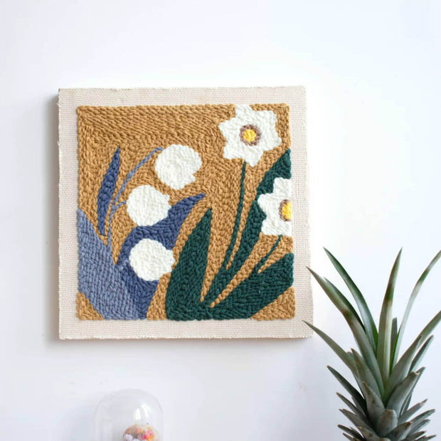 DIY Rug Hooking Punch Needle Handcraft- Orchid - idiypaint