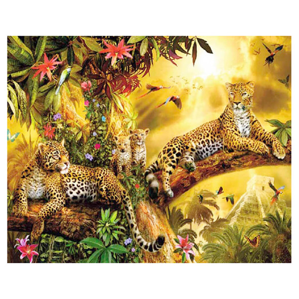 Lucky Leopard DIY Diamond Painting - idiypaint