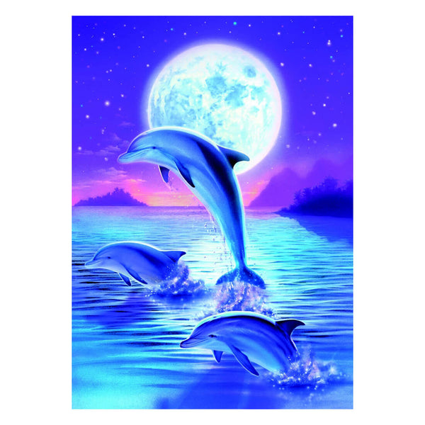 Magical Dolphin DIY Diamond Painting - idiypaint