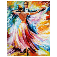 Two Dancers-40*50cm DIY Paint by Numbers Kits - idiypaint