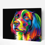 Colorful Dog-40*50cm DIY Paint by Numbers Kits - idiypaint