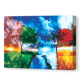 Four Seasons Changing-40*50cm DIY Paint by Numbers Kits - idiypaint