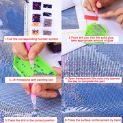 Women Magic Mirror- DIY 5D Diamond Painting - idiypaint