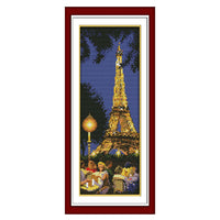 Eiffel Tower-  DIY Cross Stitch Kits - idiypaint