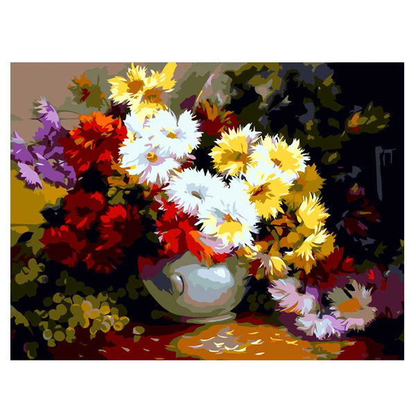 Variety Flowers-40*50cm DIY Paint by Numbers Kits - idiypaint