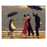 Dance In The Rain-40*50cm DIY Paint by Numbers Kits - idiypaint