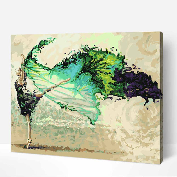 Water Dance-40*50cm DIY Paint by Numbers Kits - idiypaint