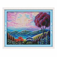 Fantasy Scenery-  DIY Cross Stitch Kits - idiypaint