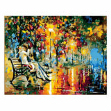 Romantic Kiss-40*50cm DIY Paint by Numbers Kits - idiypaint