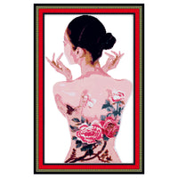 Body Painting -  DIY Cross Stitch Kits - idiypaint