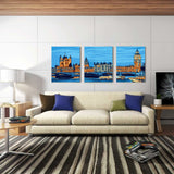 3Pcs London Big Ben-40 x 50cm DIY Painting by Numbers Sets For Adults Beginner - idiypaint