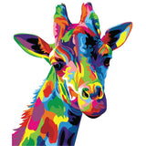 Giraffe-40*50cm DIY Paint by Numbers Kits - idiypaint