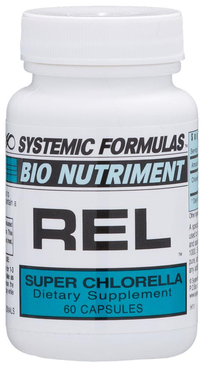 Systemic Formulas Bio Nutriment REL Chlorella