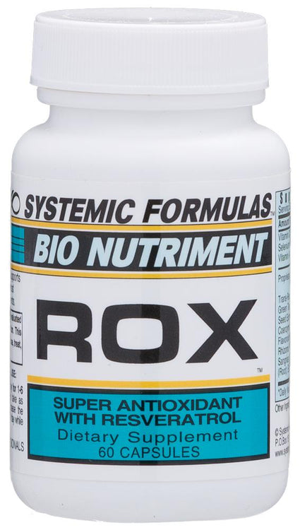 Systemic Formulas Bio Nutriment ROX Super Antioxidant with Resveratrol