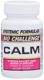 Systemic Formulas Bio Challenge Calm Stress Relief/Mood Support