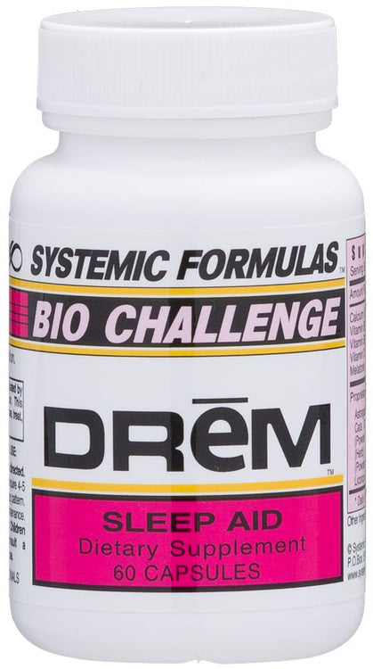 Systemic Formulas Bio Challenge DREM Sleep Aid