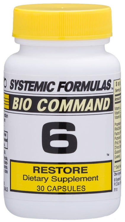Systemic Formulas Bio Command 6 Restore