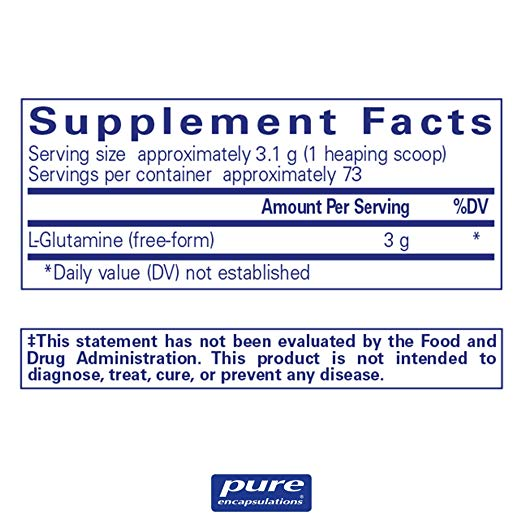 Pure Encapsulations L-Glutamine Powder