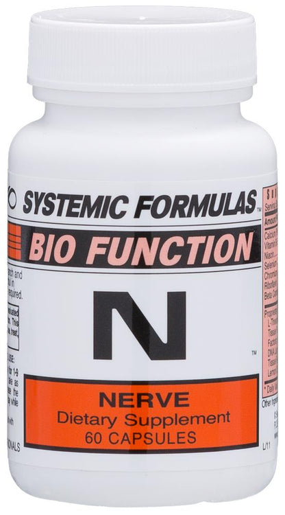 Systemic Formulas Bio Function N Nerve