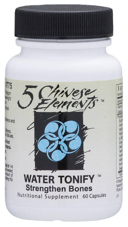 Systemic Formulas Chinese 5 Elements Water Tonify