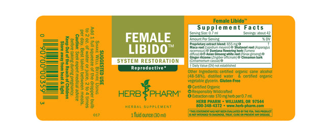 Herb Pharm Female Libido