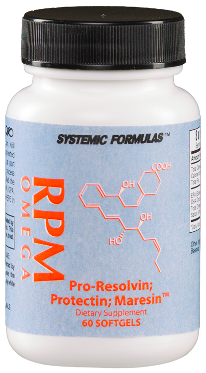 Systemic Formulas Bio Cell RPM Resolvin, Protectin, Maresin