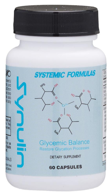 Systemic Formulas Bio Cell Synulin Glycemic Balance