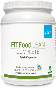 Xymogen FIT Food Lean Complete Dutch Chocolate