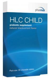 Pharmax HLC Child Probiotic blackcurrant flavor
