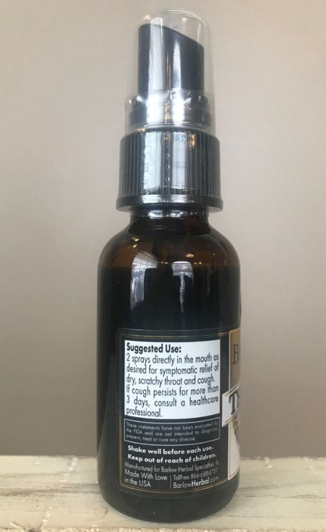 Barlow Herbal Throat Spray