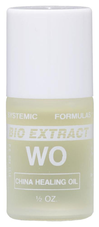 Systemic Formulas WO China Healing Oil