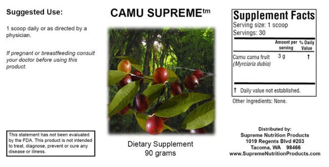 Supreme Nutrition Products Camu Supreme