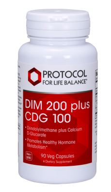 Protocol for Life Balance DIM 200 Plus Calcium D-Glucarate