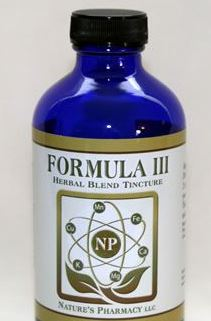 Nature's Pharmacy Formula 3 - 4 ounces