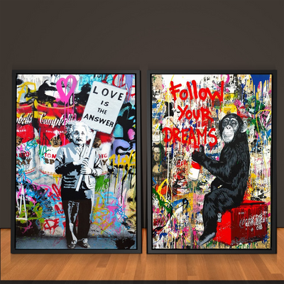 2 Piece Follow Your Dreams Graffiti Bundle