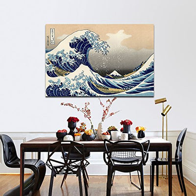 The Great Wave Canvas Wall Art