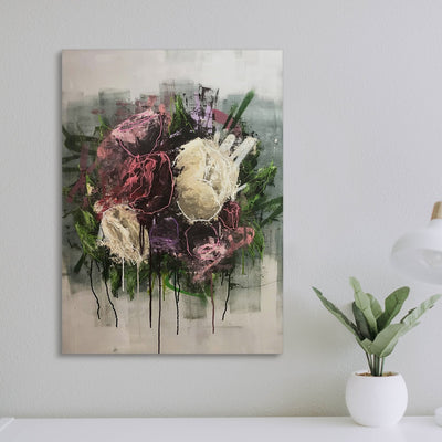 Abstract Roses - Canvas Insider