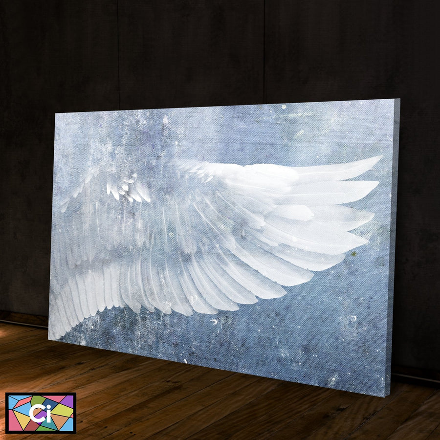 Angel Wings Spiritual Canvas Wall Art - Canvas Insider™️
