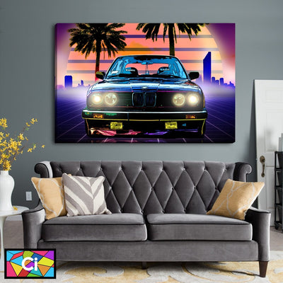 BMW Lifestyle Canvas Wall Art - Canvas Insider™️