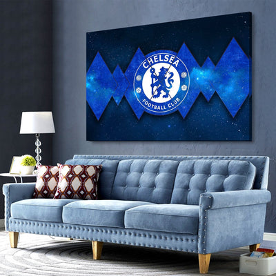 Chelsea The Stars Canvas Wall Art - Canvas Insider