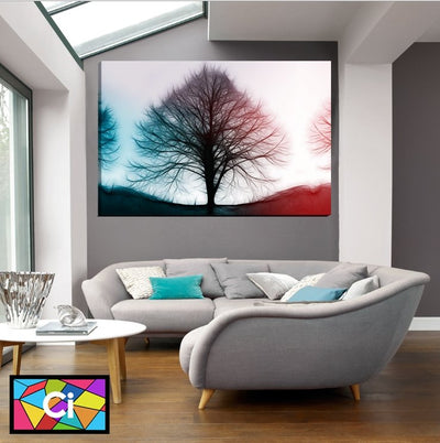 Glowing Tree of Life Canvas Wall Art - Canvas Insider™️