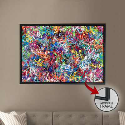 Graffiti Mesh - Canvas Insider