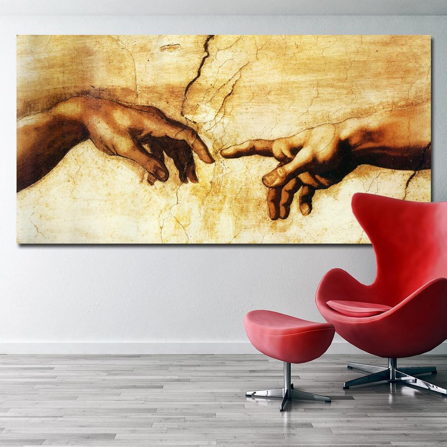 Hand of God Spiritual Religious Canvas Wall Art - Canvas Insider™️