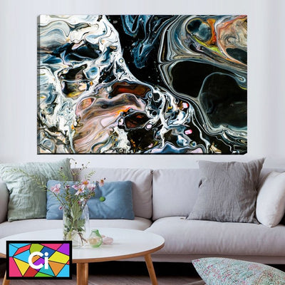 Modern Unique Abstract Canvas Wall Art - Canvas Insider™️