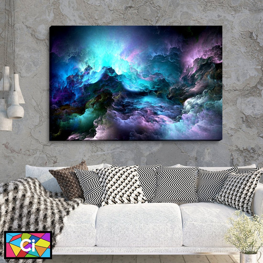 Mystical Clouds of Light Canvas Wall Art - Canvas Insider™️